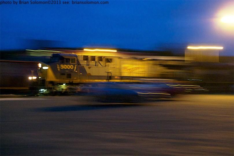 Pan photo of CSX.