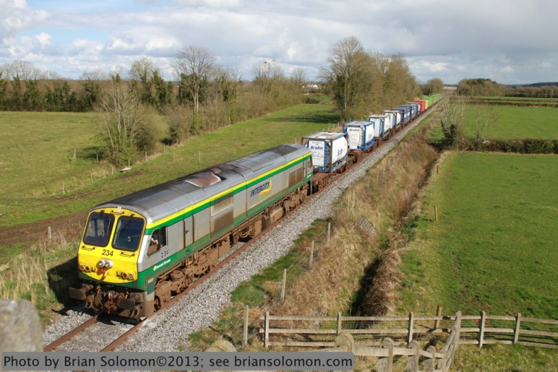 Irish Rail freight.