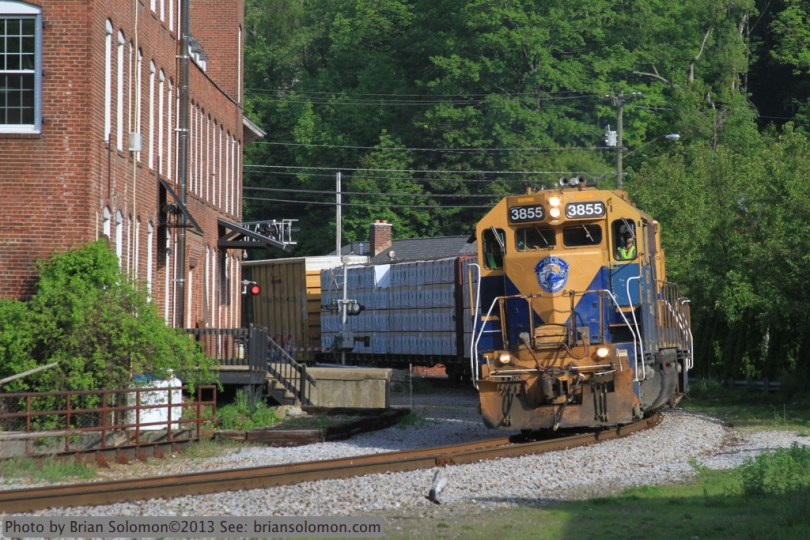 New England Central GP38s