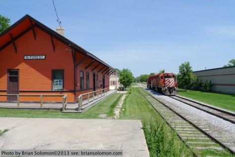 DeForest station.