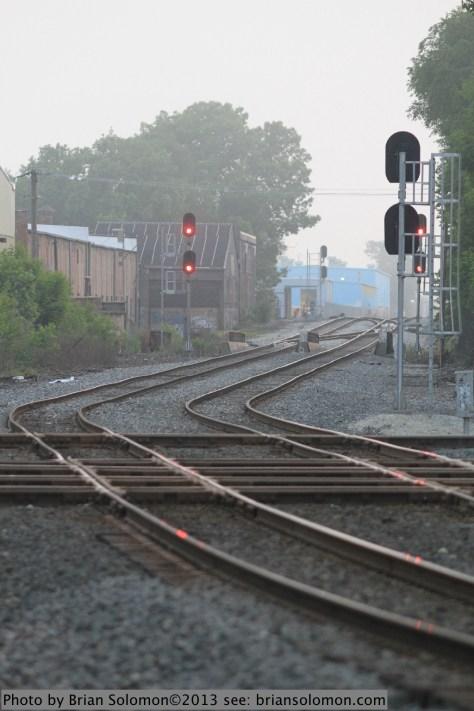 Level crossing at Brighton Park