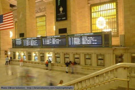 Grand Central's most memorable feature is its grand concourse, a vast interior space intended to accommodate tens of thousands pedestrians daily.