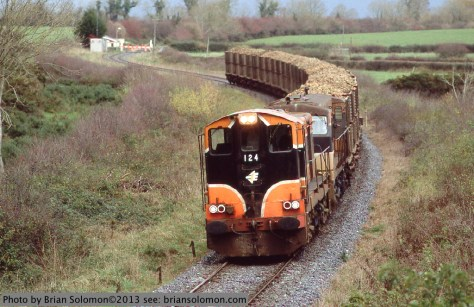 Irish Rail sugar beet train