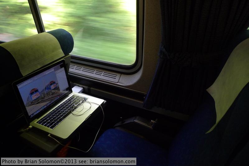 Amtrak seat.