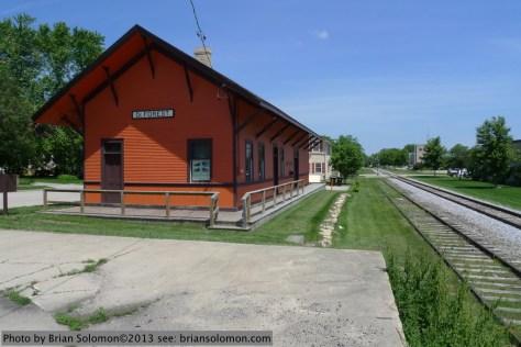 DeForest station, Wisconsin.
