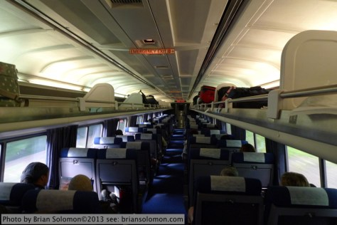Amfleet carriage.