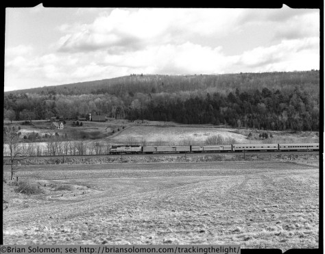 Amtrak's Lake Shore Limited.