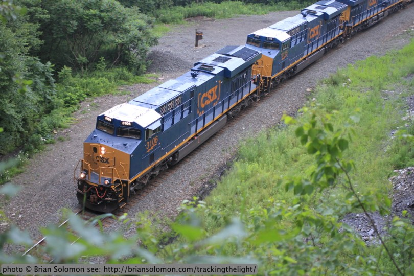 New CSX GE-built ES44ACs.