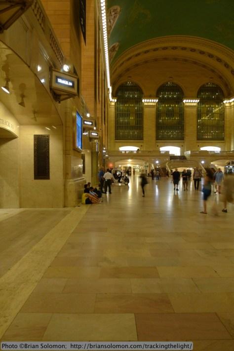 Grand Central's concourse.