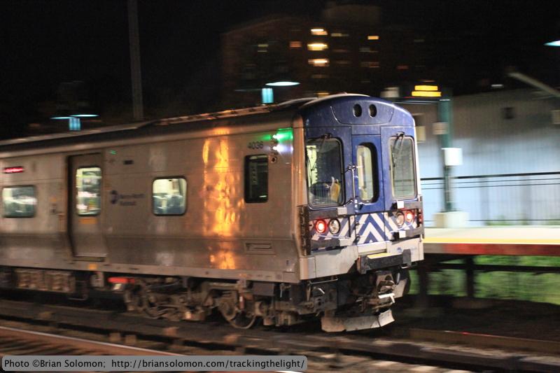 Metro-North train.