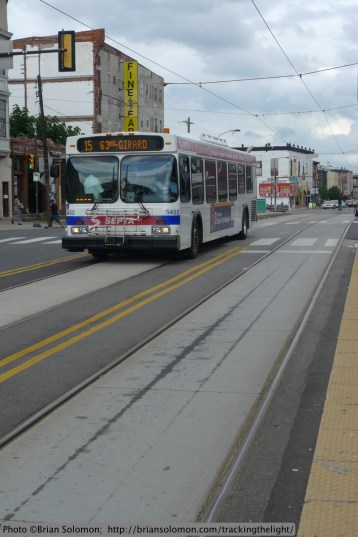 SEPTA Bus on 15 Route.