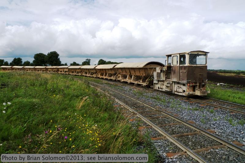 Bord na Mona, ash train.