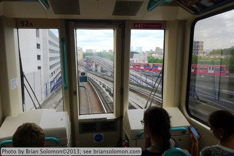 London's Docklands Light Railway