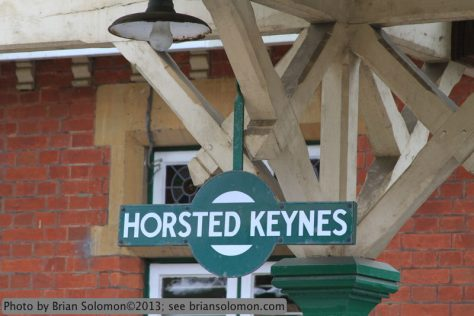 Horsted Keynes is a popular mid-line layover.