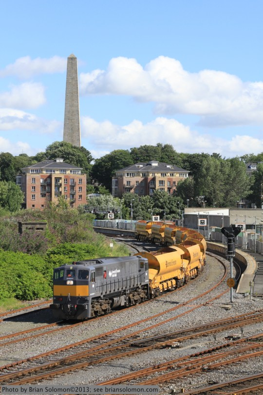 Irish Rail ballast train.