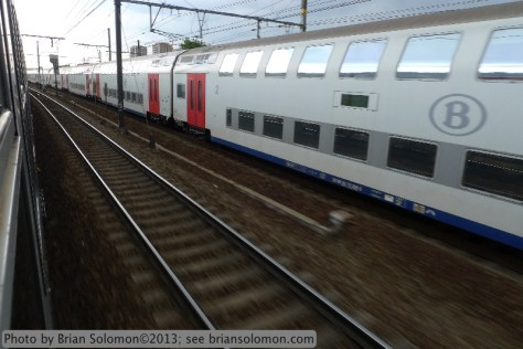 SNCB passenger train.