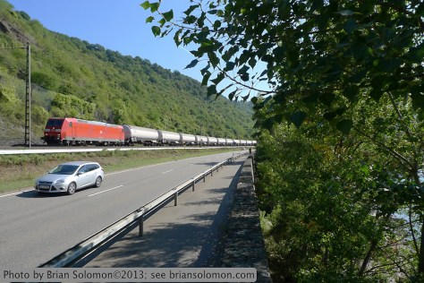 Rail Freight in Germany.