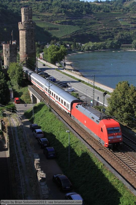 Rhein River Valley at Oberwesel.