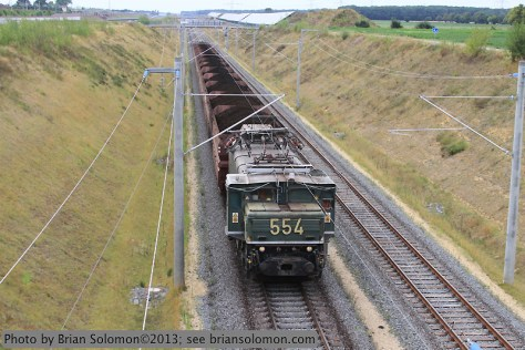 RWE Power lignite train