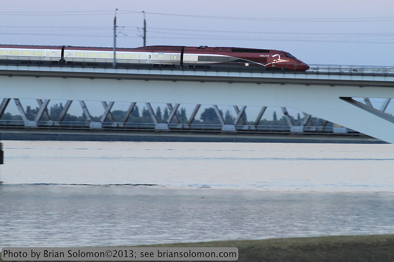 Thalys high-speed train.