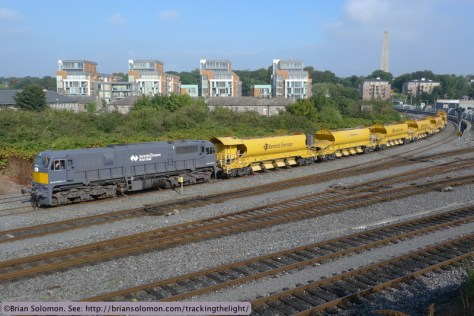 Irish Rail HOBS at Islandbridge Junction near Heuston Station, Dublin. Lumix LX3 photo.