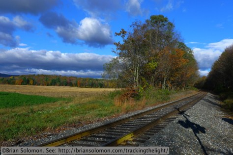 New England Central near Vernon, Vermont. Lumix LX3 photo.