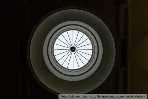Skylight: Royal College of Surgeons Ireland. Lumix LX3 photo.