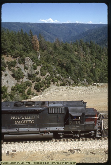 Southern Pacific on Donner Pass