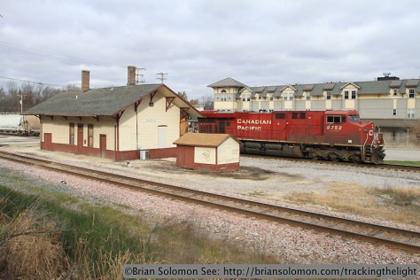 CP Rail GE diesel.