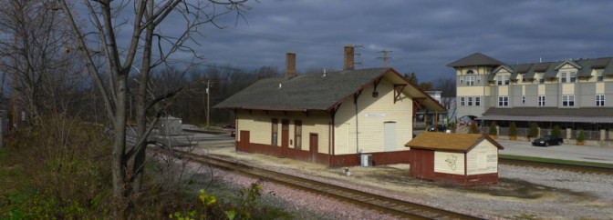 Daily Post: Old Milwaukee Road Station, Brookfield, Wisconsin.