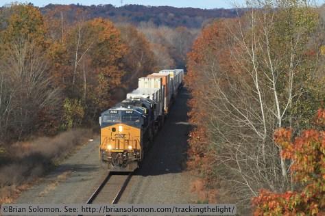 CSX freight.
