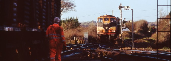 Daily Post: Irish Rail, Wellingtonbridge, County Wexford, December 2005