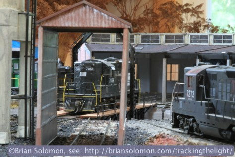 It's a look back on the early Penn Central years when GP9s still ruled New England branch lines. Canon EOS 7D photo.