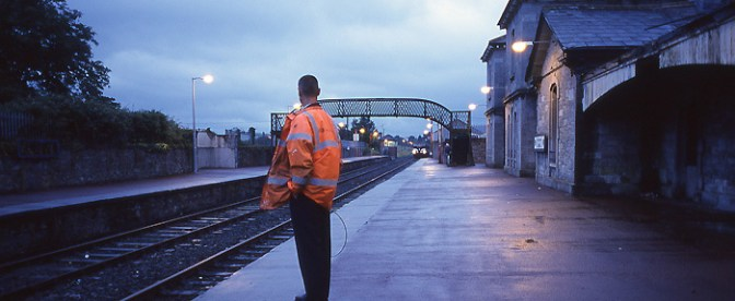 DAILY POST: Irish Rail, Clonmel, County Tipperary, July 2003.
