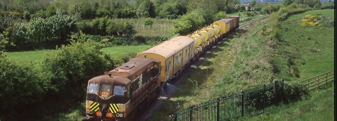 DAILY POST: Irish Rail Weed Spraying Train, Fiddown