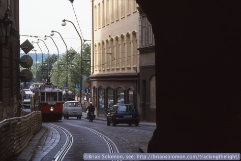 Prague has a tram museum and while I was wandering around I saw several historic cars on the city streets.