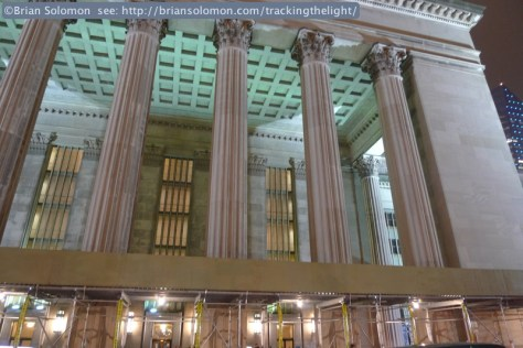 A classical entrance to Philadelphia; you just don't get the same feeling from an airport.