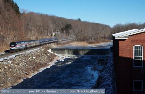 Amtrak heritage locomotive