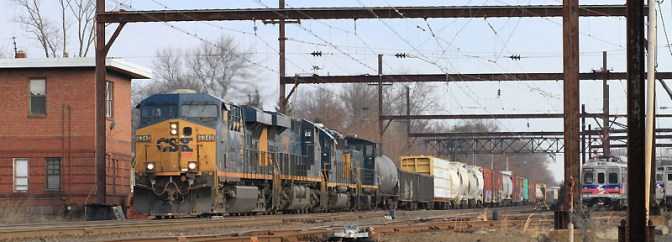 Daily Post: Busy Morning at West Trenton