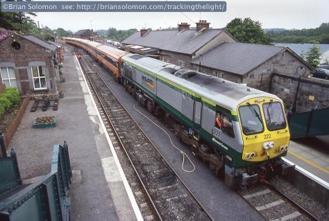 Irish Rail at Westport