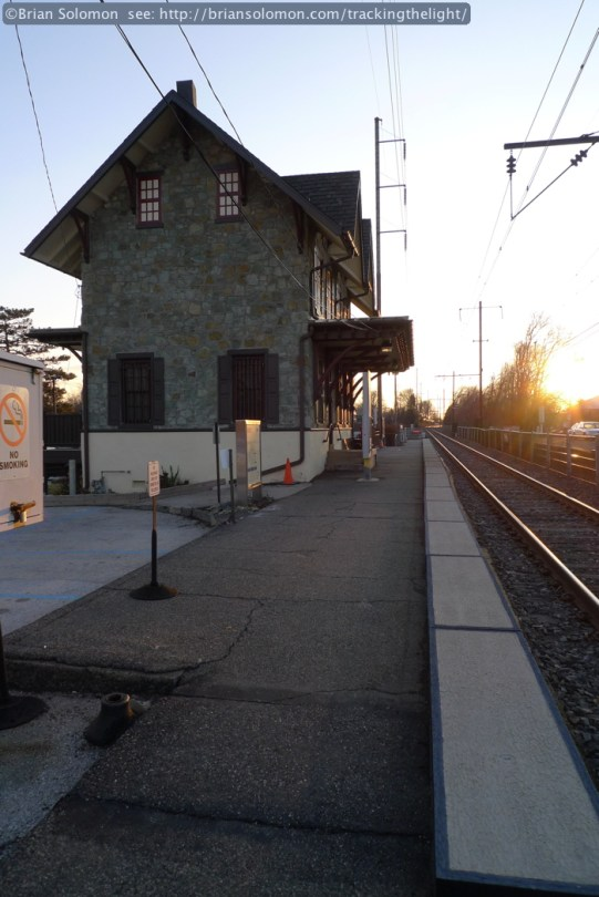 SEPTA railroad station