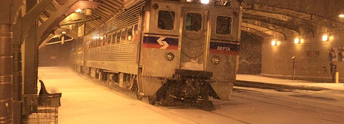 SPECIAL POST: SEPTA in the Snow