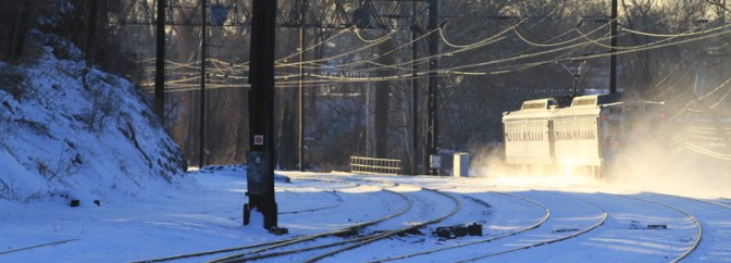 Rolling on the Railroad Special Post: Frosty Morning in Philadelphia.