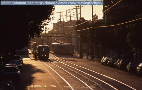 San Francisco MUNI light rail.