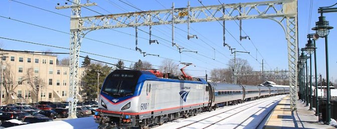 News Flash: Amtrak ACS-64 Debut.