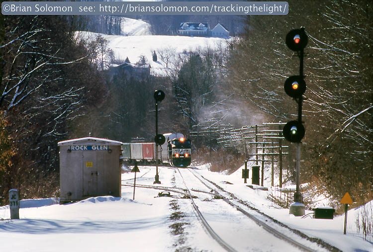 Daily Post Erie Signals At Rock Glen Tracking The Light