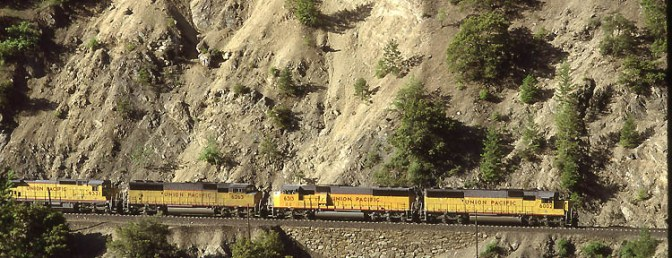 Daily Post: Union Pacific Feather River Canyon