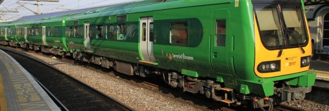 Irish Rail 29000 in a New Livery—DAILY POST
