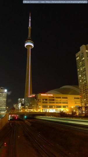 CN Tower at Night Toronto P1060978