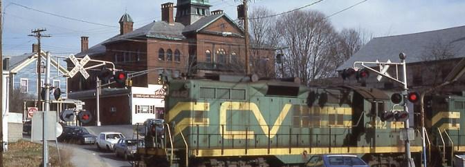 Central Vermont, Willimantic, Connecticut.